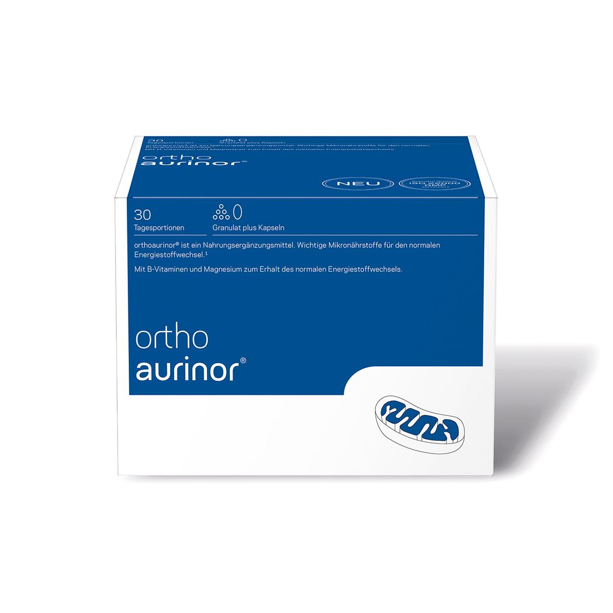 orthomed orthoaurinor® Granulat/Kapseln 30er