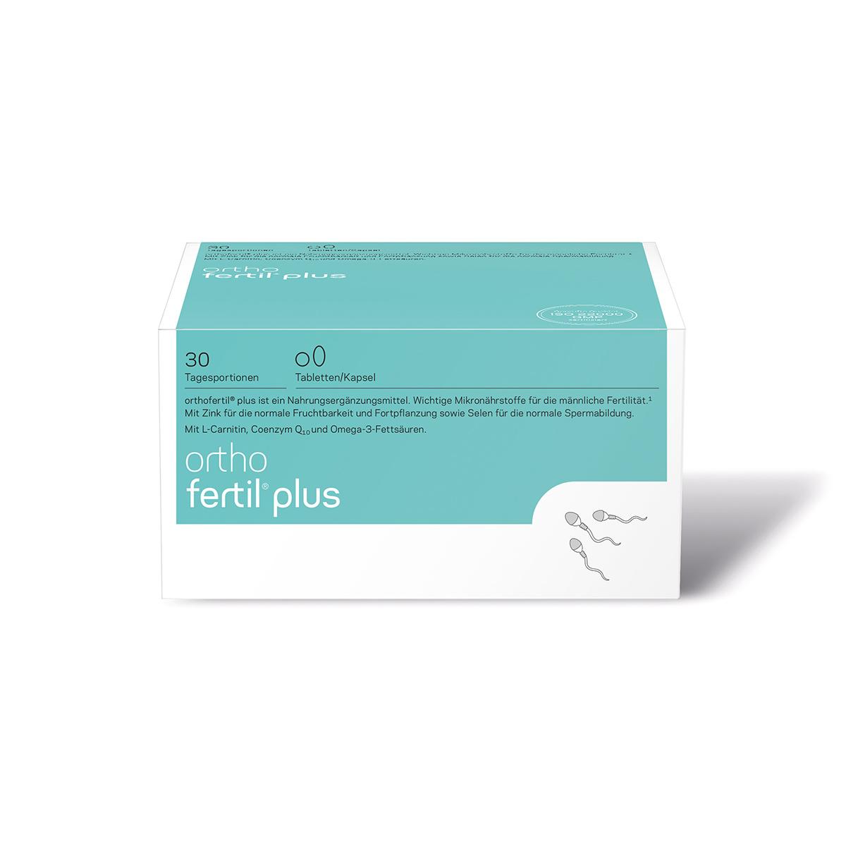 orthomed orthofertil plus Tabletten / Kapseln 30er