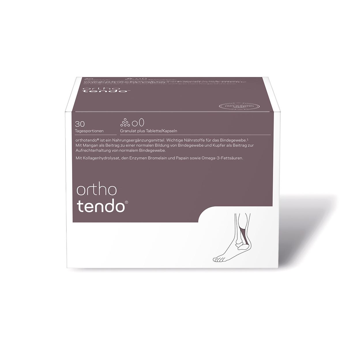 orthomed orthotendo® Granulat plus Tabletten/Kapseln 30er
