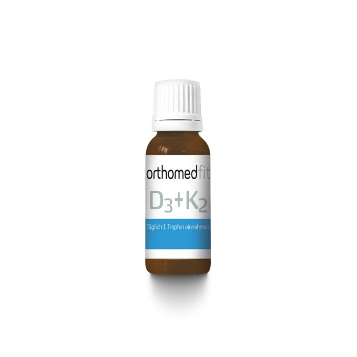 orthomed fit Vitamin D3 + K2